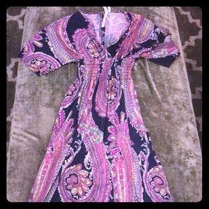 Beautiful paisley dress